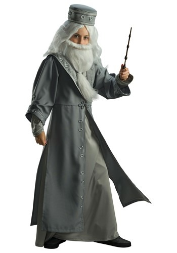Click Here to buy Kids Harry Potter Dumbledore Deluxe Costume from HalloweenCostumes, CDN Funds & Shipping