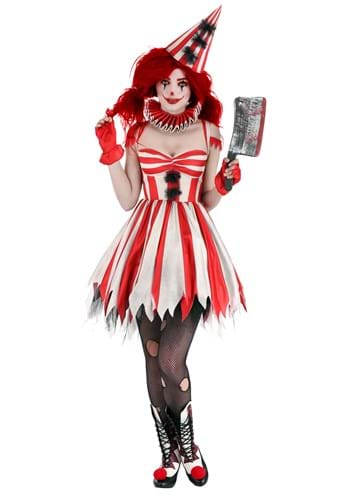Sinister Circus Clown Costume Womens