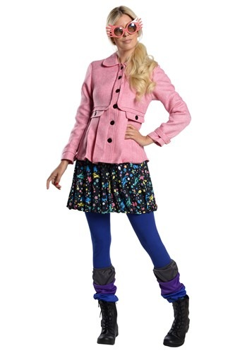 Click Here to buy Womens Harry Potter Premium Luna Lovegood Costume from HalloweenCostumes, CDN Funds & Shipping
