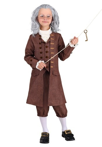 Boy's Colonial Benjamin Franklin Costume