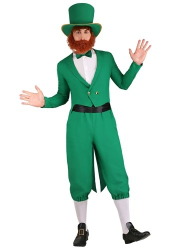Plus Size Lucky Leprechaun Costume for Men