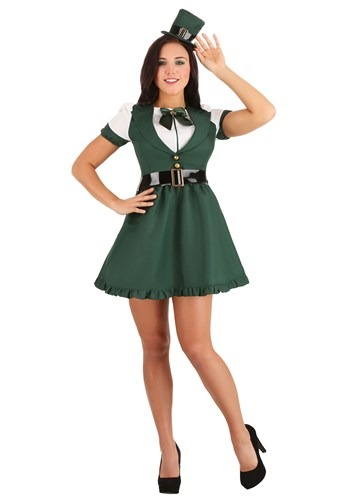 Click Here to buy Sexy St. Patricks Day Leprechaun Womens Costume from HalloweenCostumes, CDN Funds & Shipping