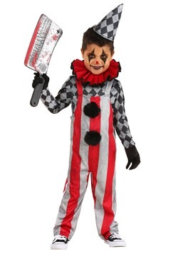 Toddler Wicked Circus Clown Costume