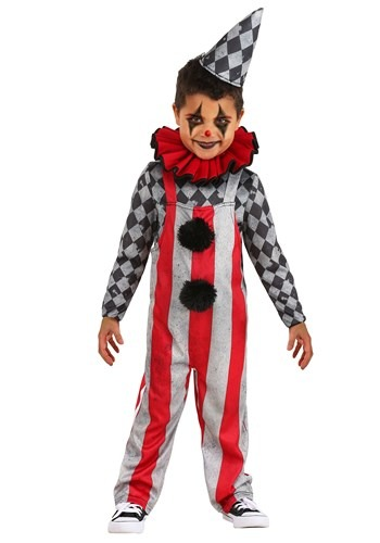 Wicked Circus Toddler Clown Costume