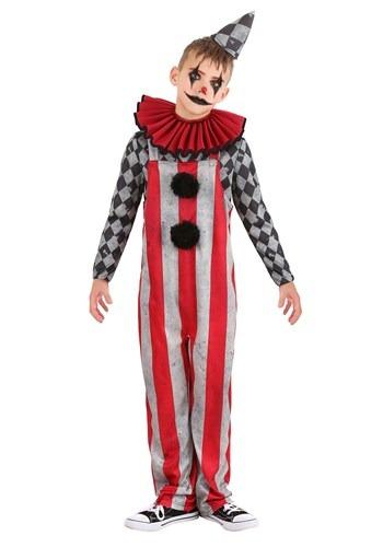 Wicked Circus Clown Boys Costume