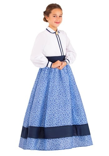 Click Here to buy Prairie Dress Girls Costume from HalloweenCostumes, CDN Funds & Shipping