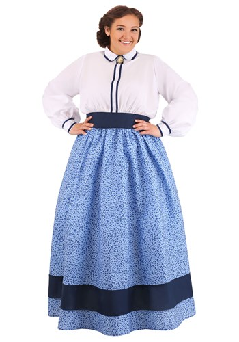 Plus Size Prairie Dress Costume for Women