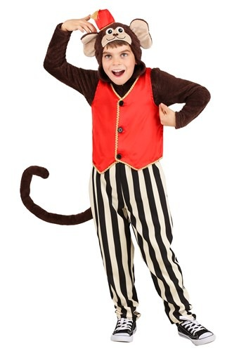 Circus Monkey Costume For Kids