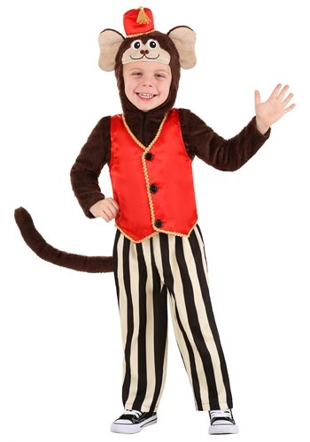 Click Here to buy Circus Monkey Costume For Toddlers from HalloweenCostumes, CDN Funds & Shipping