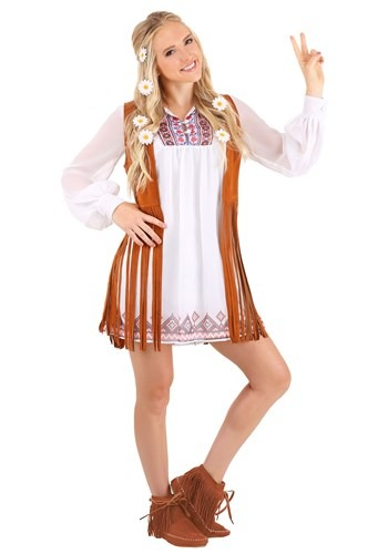 Women's 70's Free Spirit Costume