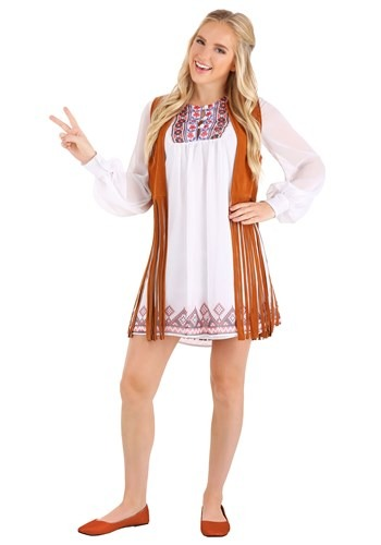 Click Here to buy 70s Free Spirit Womens Costume from HalloweenCostumes, CDN Funds & Shipping