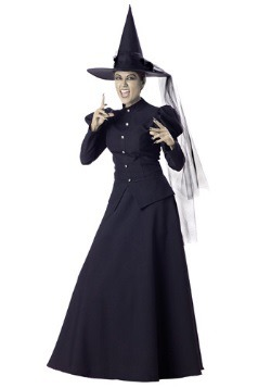 Womens Black Witch Costume