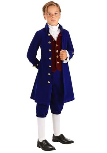 Click Here to buy Thomas Jefferson Boys Costume from HalloweenCostumes, CDN Funds & Shipping