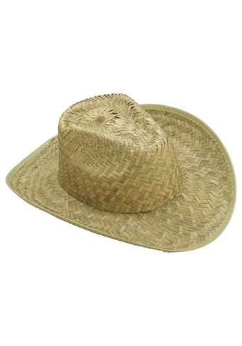 Straw Cowboy Hat for Adults