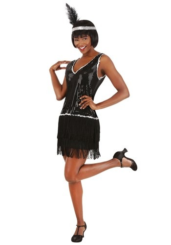 Onyx Flapper Costume for Women