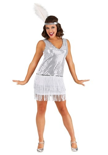 Crystal Flapper Costume for Women