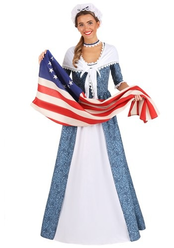 Click Here to buy Betsy Ross Womens Costume from HalloweenCostumes, CDN Funds & Shipping