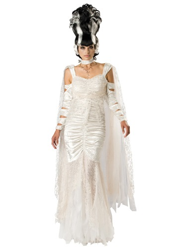 Click Here to buy Deluxe Monster Bride Costume from HalloweenCostumes, CDN Funds & Shipping