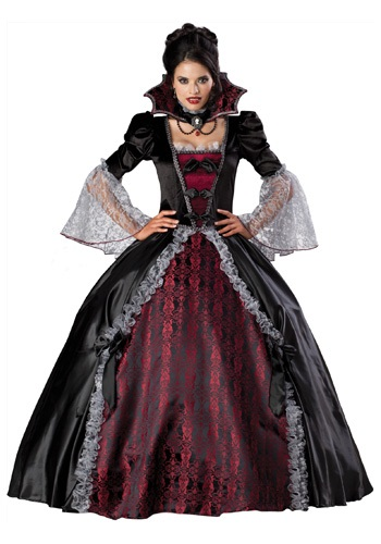 Click Here to buy Versailles Vampiress Costume from HalloweenCostumes, CDN Funds & Shipping