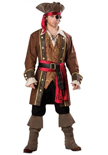 Click Here to buy Captain Skullduggery Pirate Costume from HalloweenCostumes, CDN Funds & Shipping