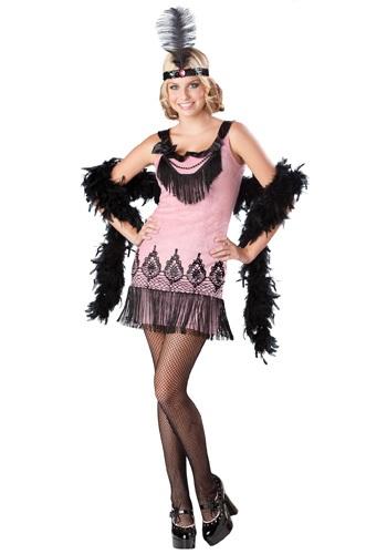 Flirty Teen Flapper Costume