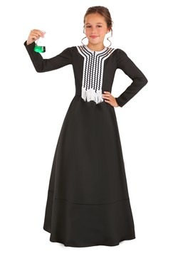 Girl's Marie Curie Costume