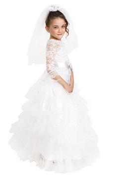 Girls Dreamy Bride Costume