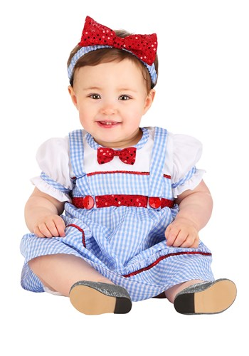 Click Here to buy Sweet Kansas Girl Baby Costume from HalloweenCostumes, CDN Funds & Shipping