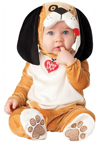 Click Here to buy Baby Puppy Love Costume from HalloweenCostumes, CDN Funds & Shipping