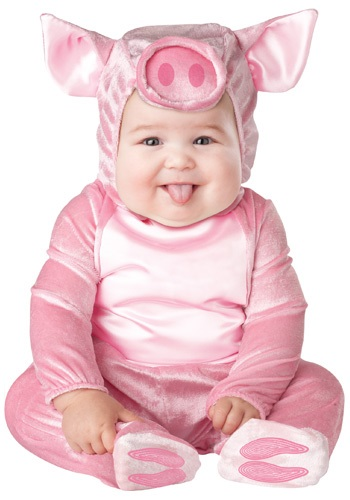 Click Here to buy Baby Lil Piggy Costume from HalloweenCostumes, CDN Funds & Shipping