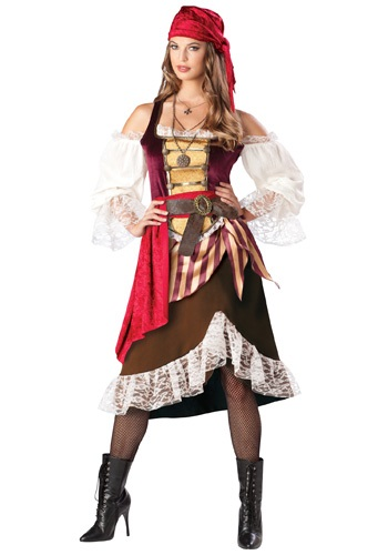 Click Here to buy Deckhand Darlin Pirate Costume from HalloweenCostumes, CDN Funds & Shipping