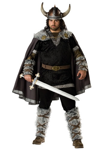 Click Here to buy Plus Size Viking Warrior Costume from HalloweenCostumes, CDN Funds & Shipping