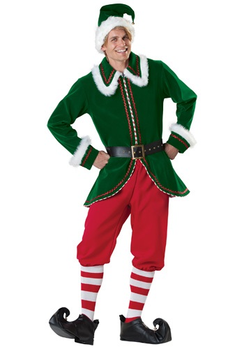 Click Here to buy Adult Santas Elf Costume from HalloweenCostumes, CDN Funds