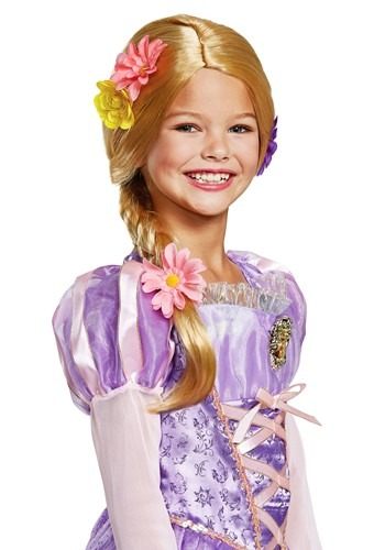 Tangled Child Rapunzel Deluxe Wig