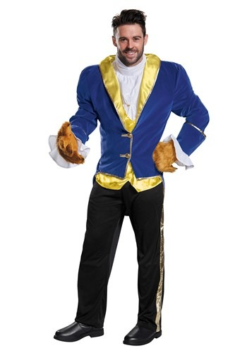 Click Here to buy Mens Beauty and the Beast Prestige Beast Costume from HalloweenCostumes, CDN Funds & Shipping