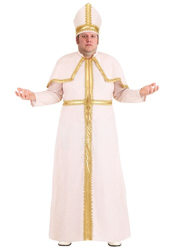 Mens Pious Pope Plus Size Costume