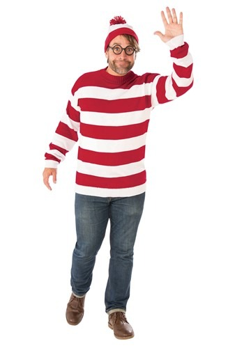 Where's Waldo Deluxe Plus Size Adult Costume