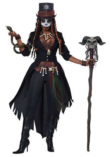 Plus Size Voodoo Magic Womens Costume