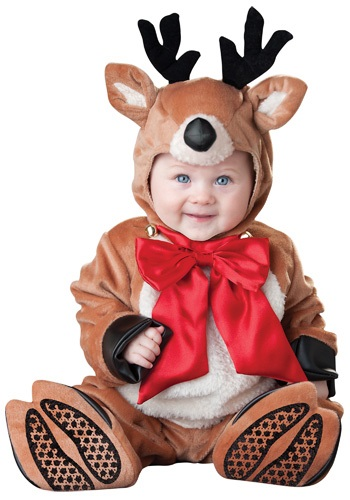 Click Here to buy Baby Reindeer Costume from HalloweenCostumes, CDN Funds & Shipping