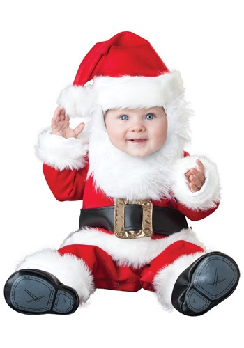 Click Here to buy Santa Baby Costume from HalloweenCostumes, CDN Funds & Shipping
