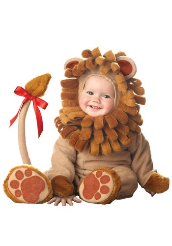 Baby Lion Cub Costume | Infant Cowardly Lion Costumes
