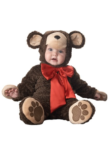Click Here to buy Baby Teddy Bear Costume from HalloweenCostumes, CDN Funds & Shipping