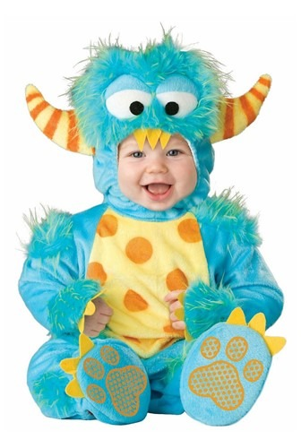 Click Here to buy Baby Lil Monster Costume from HalloweenCostumes, CDN Funds & Shipping