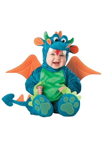 Click Here to buy Baby Plush Dragon Costume from HalloweenCostumes, CDN Funds & Shipping