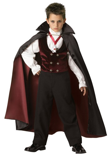 Boys Gothic Vampire Costume