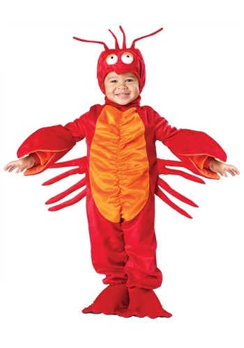 Click Here to buy Toddler Lil Lobster Costume from HalloweenCostumes, CDN Funds & Shipping