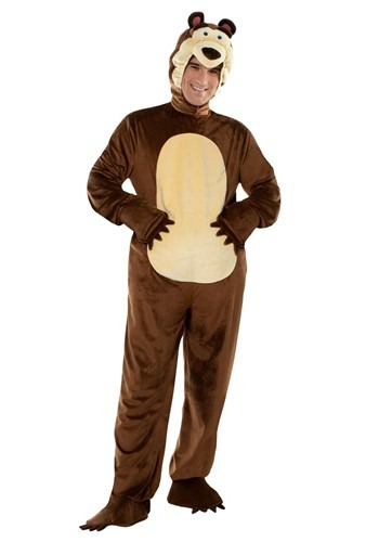 Masha and the Bear Bear Costume for Adults