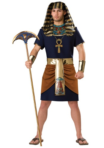 Click Here to buy Egyptian Pharaoh Costume from HalloweenCostumes, CDN Funds & Shipping