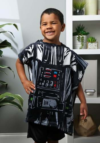 Kids Star Wars Classic Vader Hooded Costume Poncho