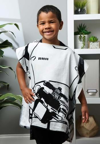 Click Here to buy Star Wars Hooded Stormtrooper Costume Poncho from HalloweenCostumes, CDN Funds & Shipping